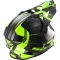 Casco LS2 Pioneer MX436 Trigger Black / Hi-Vis Yellow