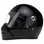 CASCO BILTWELL LANE SPLITTER HELMET GLOSS BLACK