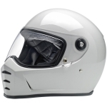 CASCO BILTWELL LANE SPLITTER HELMET GLOSS WHITE