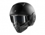 CASCO SHARK DRAK NERO OPACO