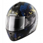 CASCO SHARK S600 PLAY GIALLO BLU